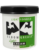 Elbow Grease Oil Cream Lubricant Light 15oz